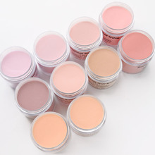 1ounce/Jar fast dry nail dipping powder (10color)acrylic French nails 3 in 1 match color gel polish nail lacuqer dip powder 123
