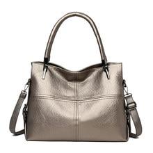 Роскошные женские сумки, дизайнерские женские кожаные сумки на плечо, винтажные ручные сумки, Большая вместительная сумка в клетку, 2019