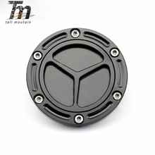 Gas Fuel Tank Cap Cover For KAWASAKI EX250R NINJA 250R 300 Z250 Z300 2008 - 2017 Motorcycle Accessories CNC Aluminum Black