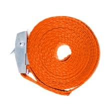 2x грузоподъемный ремешок для ресниц стяжная Пряжка галстук вниз ремень сумки для багажа 2,5 м оранжевый
