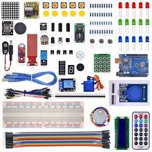 Najnowszy RFID startowy zestaw do Arduino R3 ulepszona wersja nauka apartament z opakowanie detaliczne