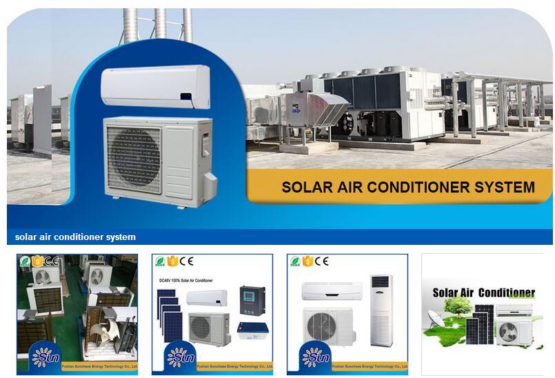 100% energy solar air conditioner 12000btu;solar air conditioner price