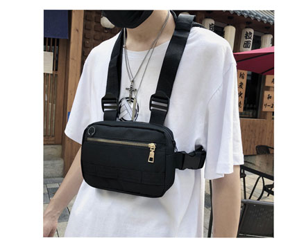 H06d504f02090495da757ef44c9507ca16 - Vest-Style Large Space Chest Bag Retro Square Chest Bag Streetwear Shoulder Functional Backpack Tactics Funny Pack G108