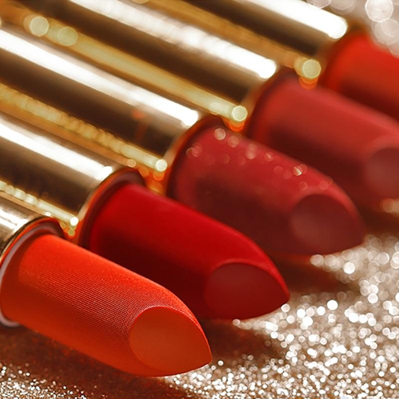Sexy Glitter Lipstick Velvet Shimmer Diamond Lipstick Pigment Waterproof Velvet Matte Lipstick Cosmetic Beauty Lips  Tools