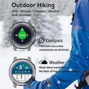 Image 4 - Northedge GPS Smart Watch Running Sport GPS Watch Bluetooth Phone Call Smartphone Waterproof Heart Rate Compass Altitude Clock