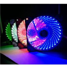 120mm Ultra Silent PC compute LED lüfter kühler kühler 12CM fan 12VDC 3P IDE 4pin(China)