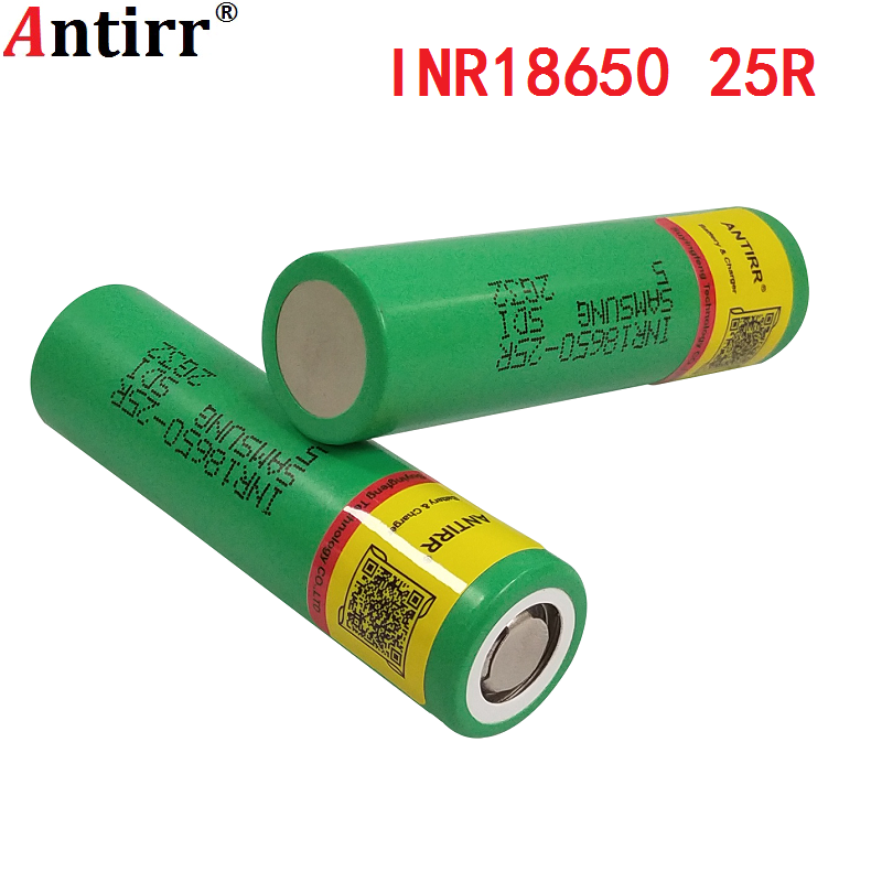 100% Original For Samsung 18650 2500mah battery INR18650 25R 20A discharge lithium batteries free shipping + box image