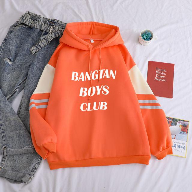 BANGTAN BOYS CLUB THEMED HOODIE (3 VARIAN)