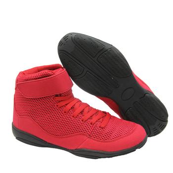 Autentyczne buty zapaśnicze dla mężczyzn buty treningowe mięśnie podeszwa antypoślizgowe trampki profesjonalne męskie buty bokserskie tanie i dobre opinie Oddychające Średnie (b m) RUBBER Zaawansowane Dla dorosłych Spring2019 Pasuje prawda na wymiar weź swój normalny rozmiar