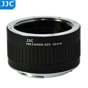 Image 3 - JJC 12mm 20mm 36mm AF מאקרו Tube הארכת טבעת מתאם עבור Canon EF EF S מצלמה 760D 750D 700D 650D 600D 550D 70D 7D 5D MarkIII