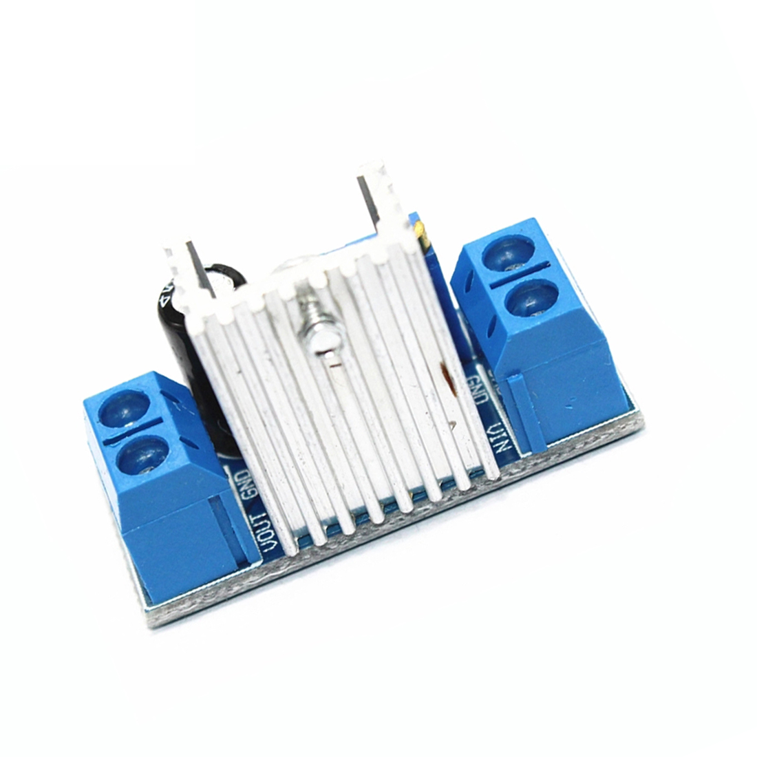 1/3/5 Pcs LM317 Adjustable Step Down Module Stabilized Voltage Power Supply Module Board DC-DC Linear Voltage Regulator