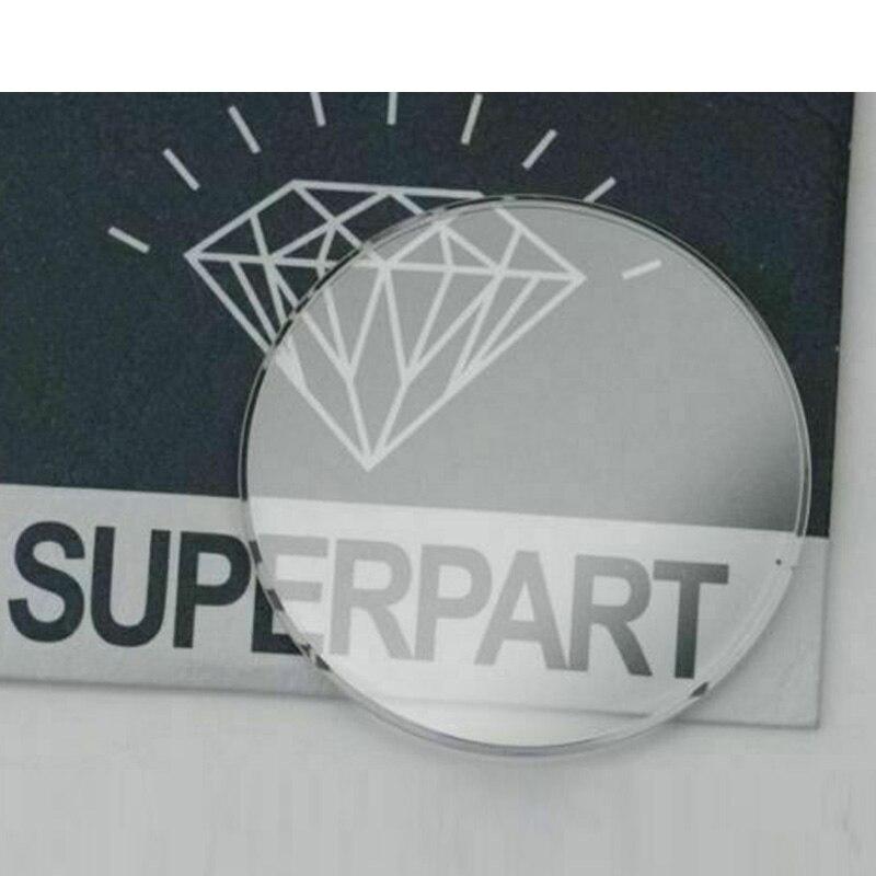 Relógio de Cristal para Rlx Safira Tropic Vidro Parte 25.295 Substituição 30.4mm