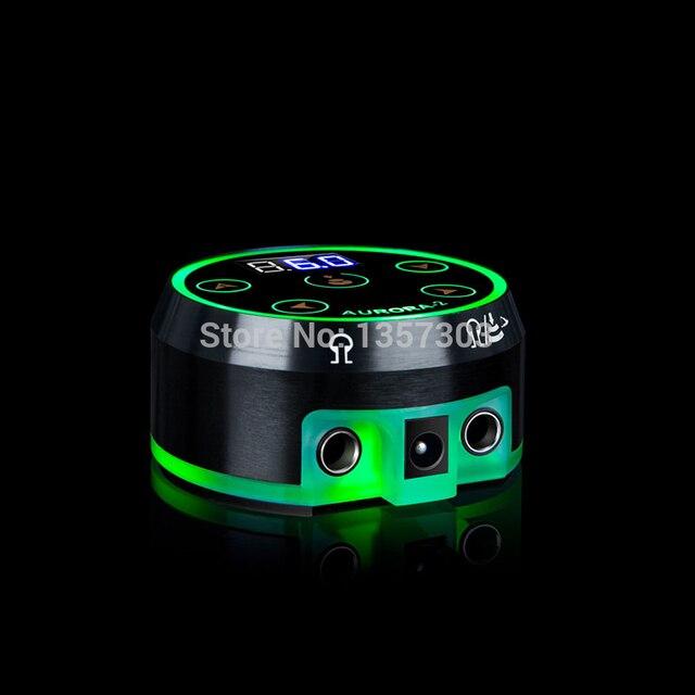 모든 새로운 업 그레 이드 오로라 II 문신 전원 공급 장치 문신 전원 문신 기계 전원 LED 디스플레이 문신 전원 Suplly