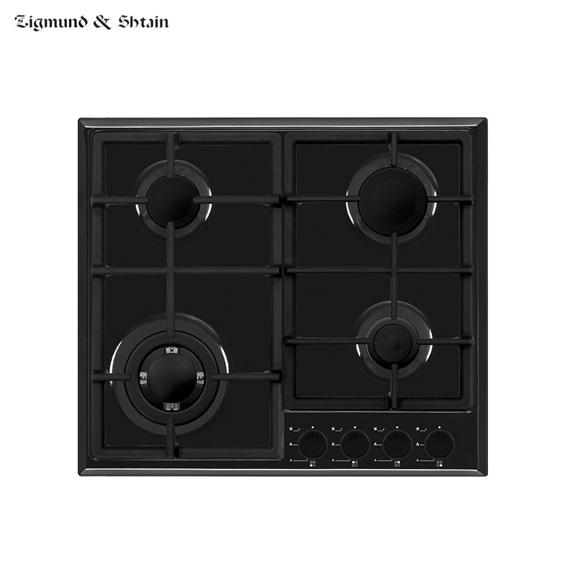 Bulit-in Gas Hobs Zigmund & Shtain GN 238.61 B Home Appliances Major Appliances Bulit-in Hobs Cooking Unit Panel Surface