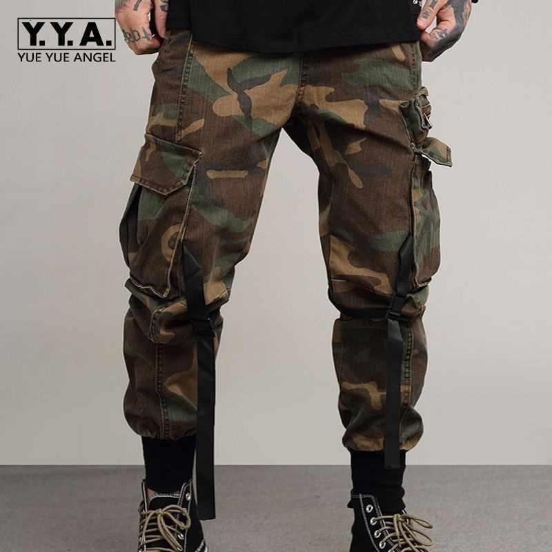 Broek De Los Hombres Militaire Cargo Broek Mannen 2020 Camouflage Tactiek Pantolon Zwart Tactiek Joggers Streetwear Broek