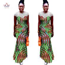 2021 Лидер продаж в африканском стиле Базен платья конструкции
