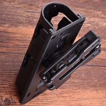 Universal 360 Degree Rotation Baton Case Holster Black Holder Self Defense Safety Outdoor Survival Kit EDC Tool 4