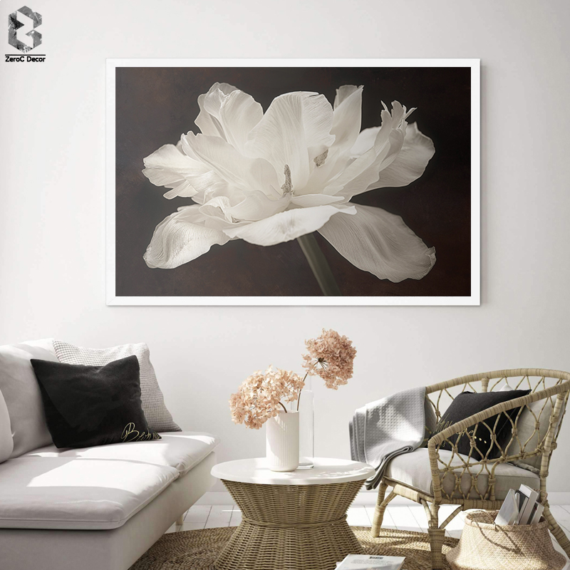 Flower Rhododendron Painting On Canvas Modern Wall Art Print Poster Cuadros Wall Picture For Living Room Kitchen Decoration