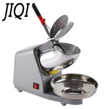 JIQI 110 В/220 В электрическая дробилка для льда, бритва для смузи, снежный конус, ледяной блок, дробилка, коммерческая машина для приготовления льда, слякоти, песка