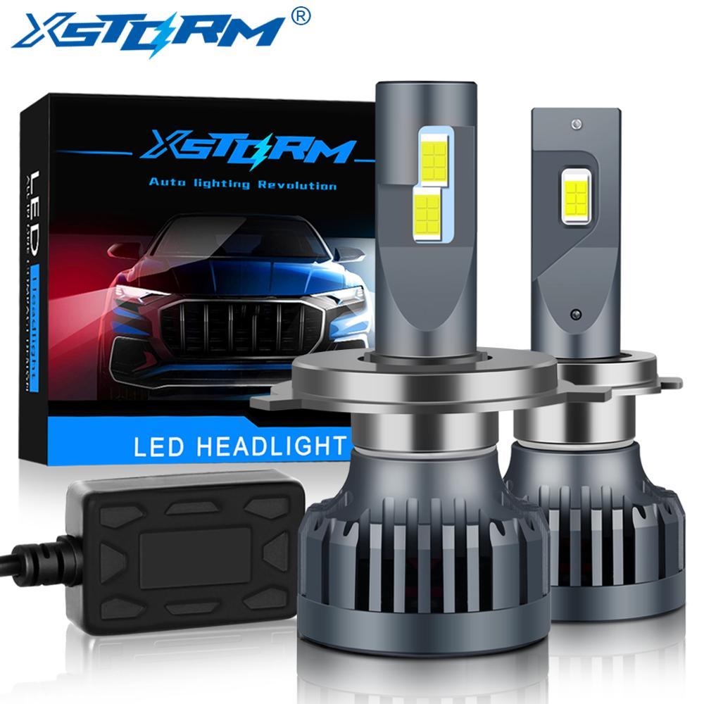 2 шт. 120 Вт 20000LM Автомобильный светодиодный фар H1 H3 H4 H7 светодиодный Canbus H8 H11 9005 HB3 9006 HB4 дальнего света авто фары лампы автомобилей Turbo