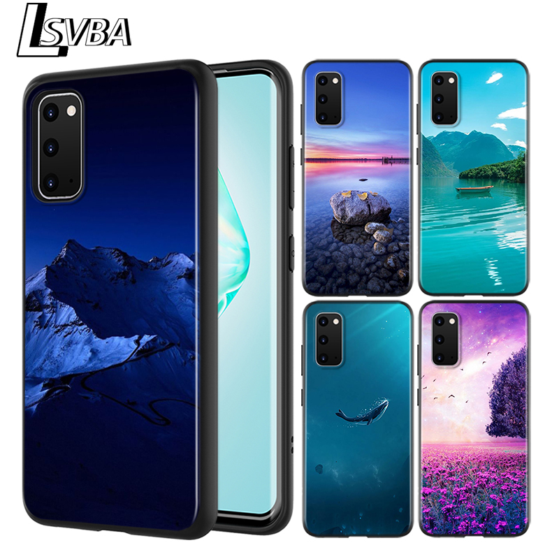 Beautiful Nature View Black Cover For Samsung Galaxy S20 Ultra Plus A01 A11 A21 A31 A40S A41 A51 A70S A71 A91 Phone Case