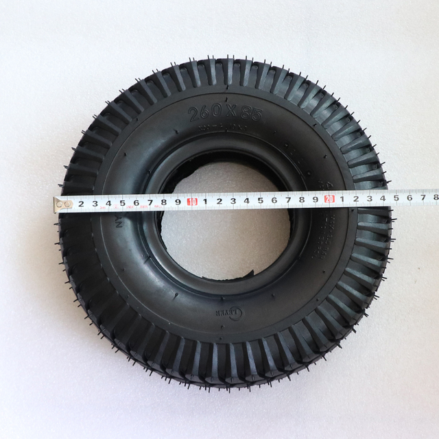 260x85 pneu pour pneu de Scooter, ATV et Go Kart pneu et Tube moteur pneu, chambre à air 3.00-4(10