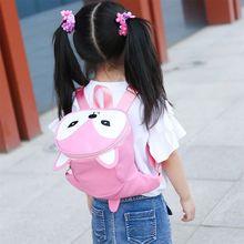 Cartoon Fox Funny Cute Backpack Kindergarten Schoolbag for Toddler Baby Boys Girls
