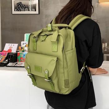 Moda mężczyźni plecak przenośny podróży dużej pojemności szkolne torby dla nastolatków chłopcy 2021 tanie i dobre opinie PŁÓTNO wytłoczone Miękka osłona 20-35 litrów Otwór na wyjście Kieszonka na telefo Wewnętrzna kieszeń na zamek błyskawiczny