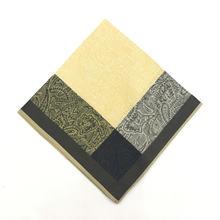 3x Винтаж жаккардовые носовые платки с принтом 100% из хлопка