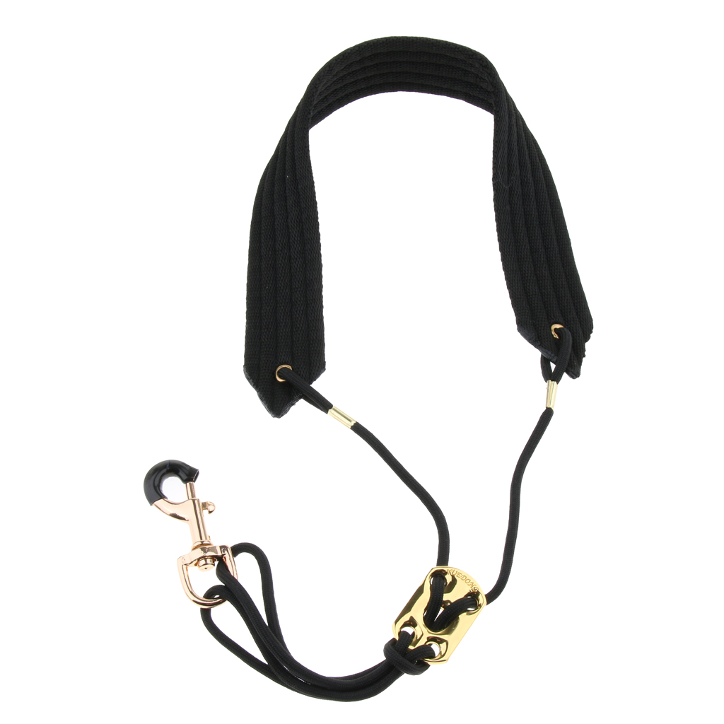 Adjustable Saxophone Neck Strap With Metal Hook For Music Lovers Saxophone Players Gift