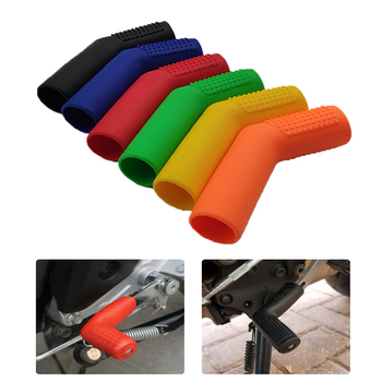 Universal Motorcycle Gear Shift Lever Covers Rubber Sock Protector For Suzuki gsxs 1000 RMX250 RMZ250 RMZ450 rmz 250 450 rmx 250 image
