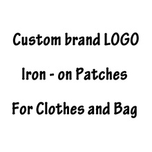Бренд Pulaqi нашивки с логотипом DIY нашивки с теплопередачей для одежды железные нашивки для одежды на заказ нашивки значки аппликации в полоску