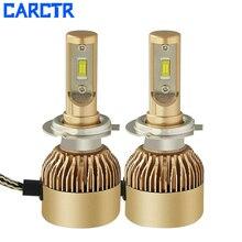CARCTR Car Lights H4 H7 LED Headlight Bulbs H11 9005 9006 30W 3800LM 6500K Car Led H1 Auto Headlamp Headlights Led Light 12v 24v цена 2017