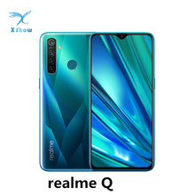 Realme Q 6,3 «экран росы Восьмиядерный Snapdragon 712AIE 4035 мАч 48MP Quad камера VOOC Быстрая зарядка мобильных телефонов