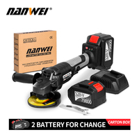 21V li-ion Battery Cordless Angle Grinder with Brushless Motor