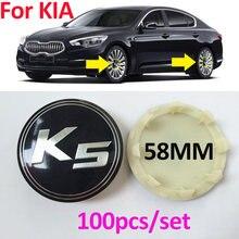100x 58 мм см стайлинга автомобилей колеса центр колпаки ступицы