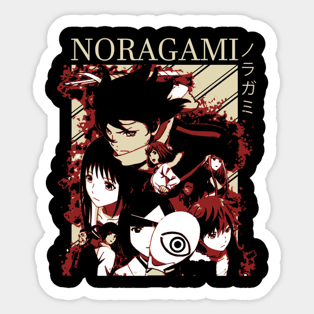 Cc10039 1pcs Japanese Anime Noragami Waterproof Toy  Stickers Kids For DIY Luggage Laptop Skateboard Car Decor Funny Sticker