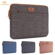 DOMISO 10 11 13 14 15.6 Inch Laptop Sleeve Canvas Case Tablet Bag Protect Computer Pouch Skin Cover for Lenovo / HP /Acer/ Apple