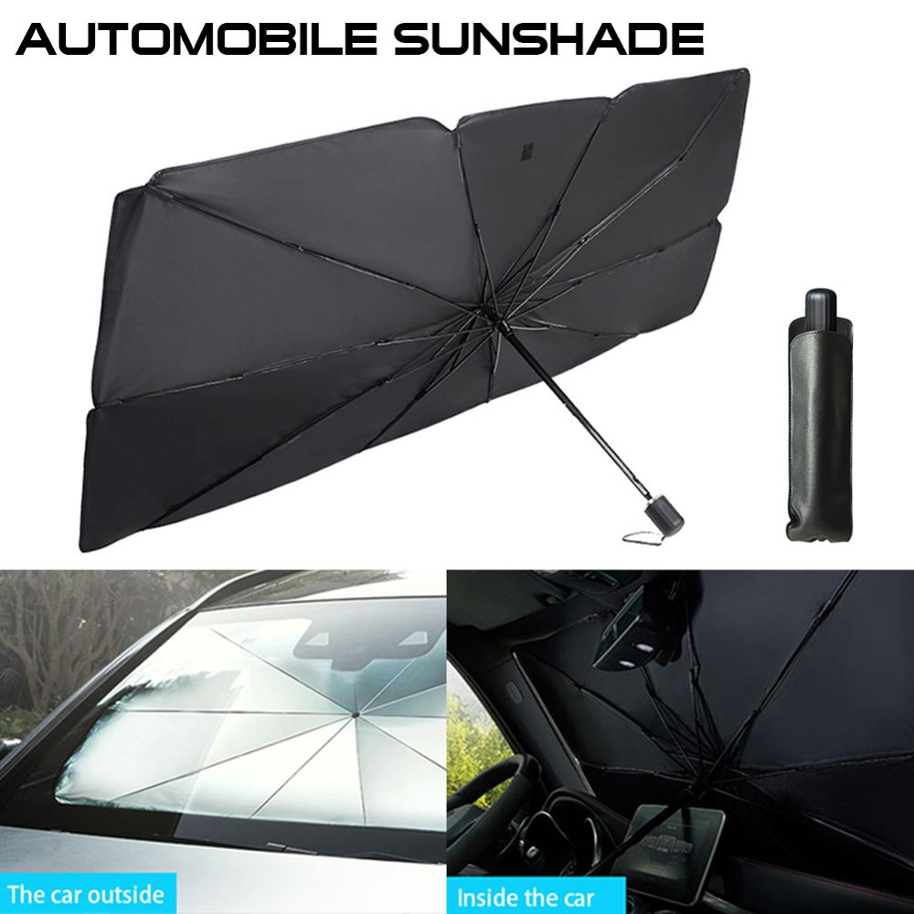 Wholesale Quick delivery Car Windshield Cover Anti-UV Car Window Shade Car Front Sun Block Window Interior Protection Sunshade