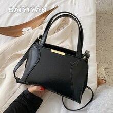 New Classic Women Shell Bag Tote Bags Retro Handbags PU Leather Ladies Messenger Bags