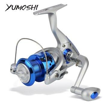 Carrete SA1000-7000 de pesca giratorio, bobina de pesca, Meta completa, mano izquierda/derecha,...