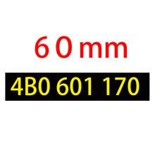 20 pçs 60mm preto cinza centro da roda do carro tampa do cubo tampas de jantes carro cobrir 4b0601170, 4b0 601 170