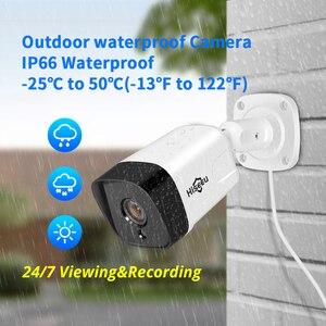 Image 3 - Hiseeu 8CH 1080P POE NVRระบบรักษาความปลอดภัยกล้องวงจรปิดชุดH.265 2.0MPเสียงบันทึกIPกล้องกันน้ำกลางแจ้งการเฝ้าระวังวิดีโอชุด