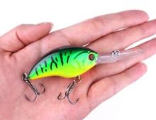 Hengjia hard plastic top water crankbaits wobbler artificial swimbaits pesca fishing tackles 9cm 13g 6#hooks