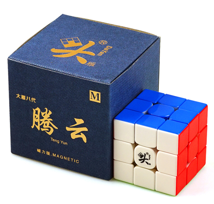 V8 Dayan TengYun M 3x3x3 Magnetic Magic Cube Champion Competition Professional Cube Toys Gift Game 3x3x3 Kids Educational Toys image
