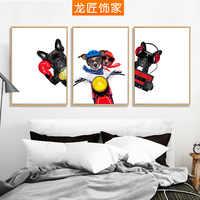 Longg детская комната декоративная картина современный минималистичный мультфильм креативная спальня прикроватная настенная живопись гост...