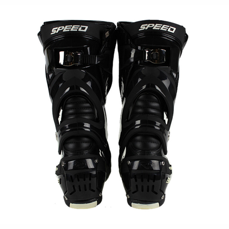 Pro-biker Motorcycle Protective Gear boots Speed botas Racing off Road Racing Shoes Microfiber Leather Motorcycle boots