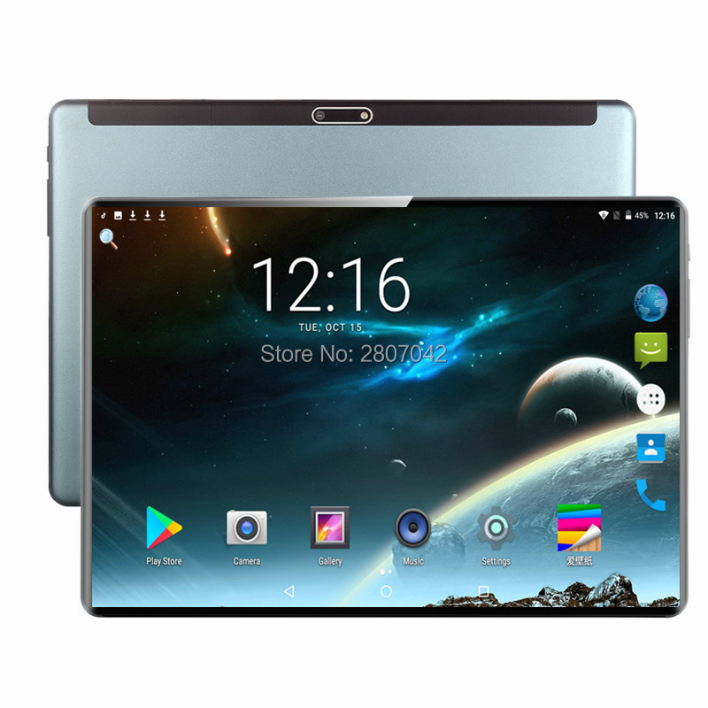2020 New 10 Inch Tablet PC Octa Core 6GB RAM 64GB 128GB ROM Android 9.0 WiFi Bluetooth GPS Phone Call 3G 4G FDD LTE Tablet