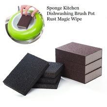 5pcs Magic Sponge Nano Emery Dishwashing Brush Pot Rust Cleaning Wipe Kitchen Removing Rub