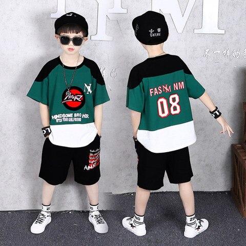 criancas meninos roupas de verao roupas algodao meninos adolescentes roupas casuais terno criancas manga curta